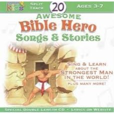 Twenty Awesome Bible Hero Songs & Stories - Wonder Kids CD