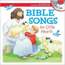 Bible Songs for Little Hearts - With Music CD