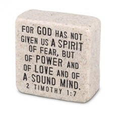 Fearless Scripture Stone