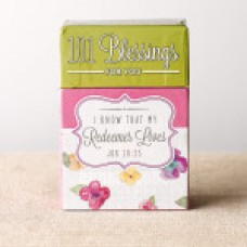 A Box of Blessings - 101 Blessings for You - I Know that My Redeemer Lives - Boxed Cards