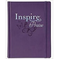 Inspire Praise NLT Bible - The Bible for Coloring & Creative Journaling - Purple cover