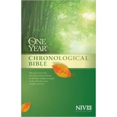 The One Year Chronological Bible - NIV - Hard Cover