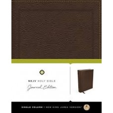 NKJV - Journal Edition - Brown Bonded Leather