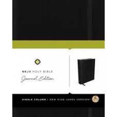 NKJV - Journal Edition - Black Hard Cover