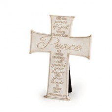 Peace - Small Standing Cross