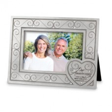 Anniversary Frame - Live a Life of Love - Cast Stone