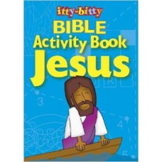 Bible Activity Book Jesus - Itty Bitty