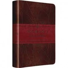 ESV  Women's Devotional Bible - Trutone Burgundy Birch Design