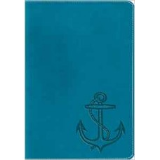 ESV  Kid's Compact Bible - Trutone, Ocean Anchor