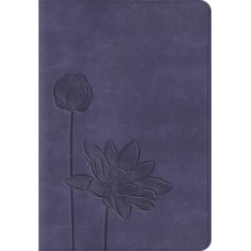 ESV Kid's Compact Bible - Trutone, Lavender Bloom