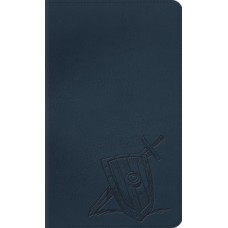 ESV  Kid's Thinline Bible - Trutone Slate Armor
