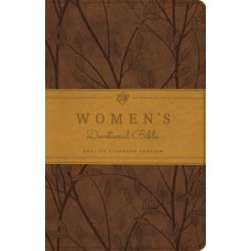 ESV  Women's Devotional Bible - Trutone Brown Birch Design