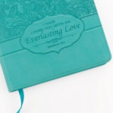 Everlasting Love - Turquoise Lux Leather Journal