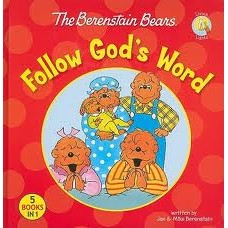Follow God's Word (the Berenstain Bears) 5 Books in 1 - Jan & Mike Berenstain
