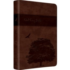 ESV God Guy Bible - Trutone Brown (Tree/Eagle Design)