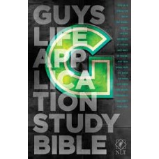 NLT Guys Life Application Study Bible (Iridium Edition)