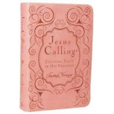 Jesus Calling, Enjoying Peace in His Presence by Sarah Young (Pink Tu-Tone)