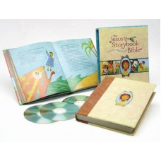The Jesus Storybook Bible - Deluxe Edition - Book With Audio CD - Sally Lloyd Jones