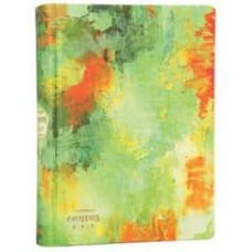 The Message Canvas Bible - Coloring & Journaling the Story of God - Hard cover Spring Palette - Eugene H Peterson