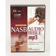 NASB Audio Bible - Mp3 - Voice Only - Stephen Johnston