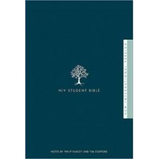 NIV Student Bible - Hardcover - Notes by Philip Yancey & Tim Stafford