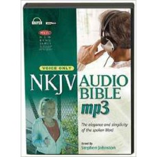 NKJV Audio Bible Mp3 - Voice Only - Stephen Johnston
