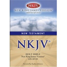 NKJV Audio Bible New Testament - DVD - Dramatized Narration - Stephen Johnston