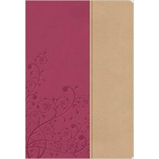NKJV Woman's Study Bible - Light Cranberry & Tuscany Leathersoft