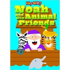 Noah and His Animal Friends - Colouring in Book - Itty Bitty