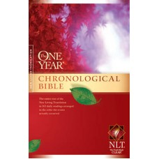 The One Year - Chronological Bible - NLT - Hard Cover