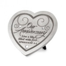 Anniversary Plaque - Live a Life of Love