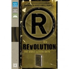 Revolution NIV Bible for Teen Guys - Italian Duo-tone Brown tones