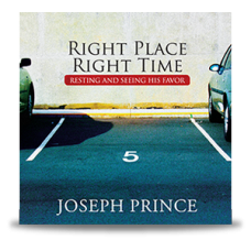 Right Place Right Time - Resting and Seeing His Favor - Audio Book (CD) - Joseph Prince