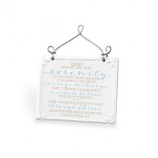 Serenity Prayer - Plaque - Ceramic/Wire