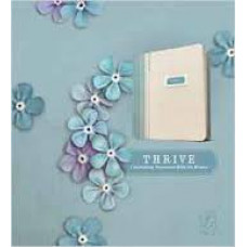 Thrive - a Journaling Devotional Bible for Women - NLT