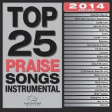 Top 25 Praise Songs - Instrumental - CD