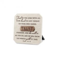 Trust in the Lord - Plaque With Title Bar