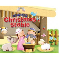 Christmas Stable - Lift the Flap - Board Book