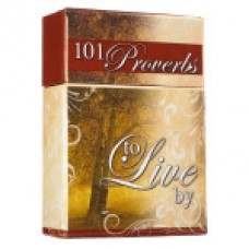 A Box of Blessings - 101 Proverbs to Live By - Boxed Cards