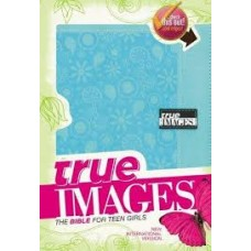 True Images NIV Bible for Teen Girls - Turquoise Duo-tone